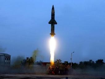 Prithvi-II. Фото с сайта domain-b.com