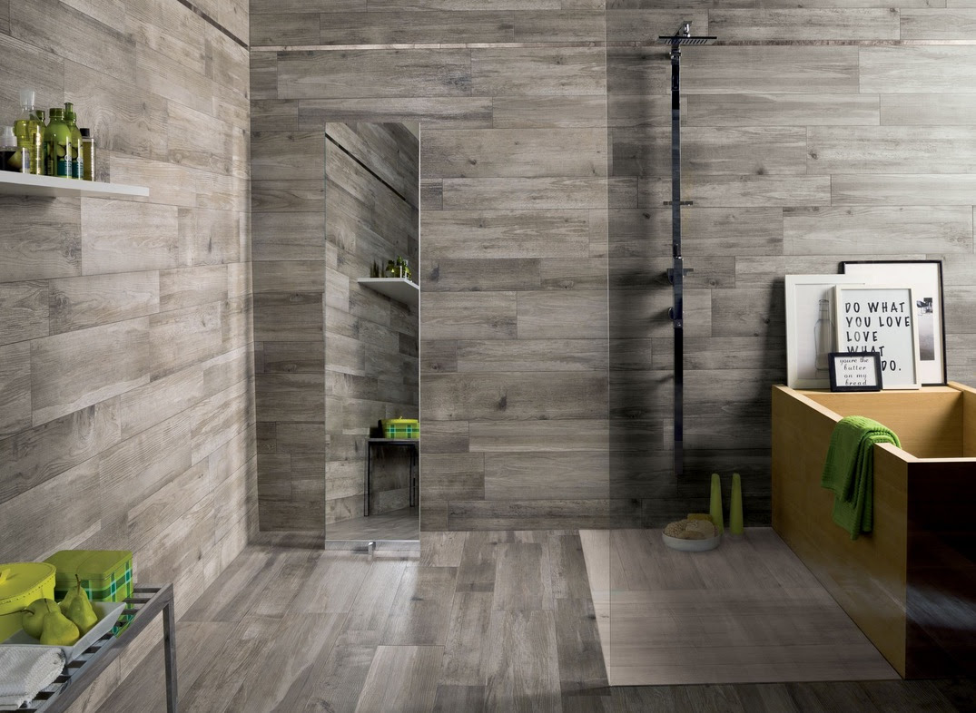 Home Furniture Decoration Wall And Floor Wood Look Tiles