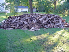 wood to stack