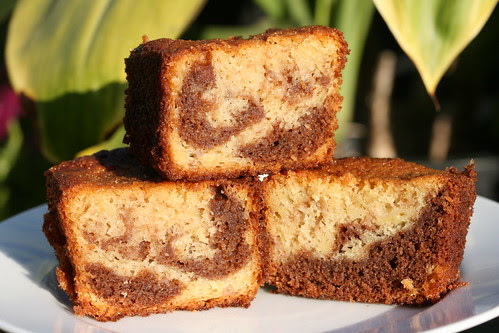 Black & White Banana Loaf