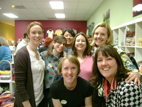 rose city knitters with jess from ravelry!