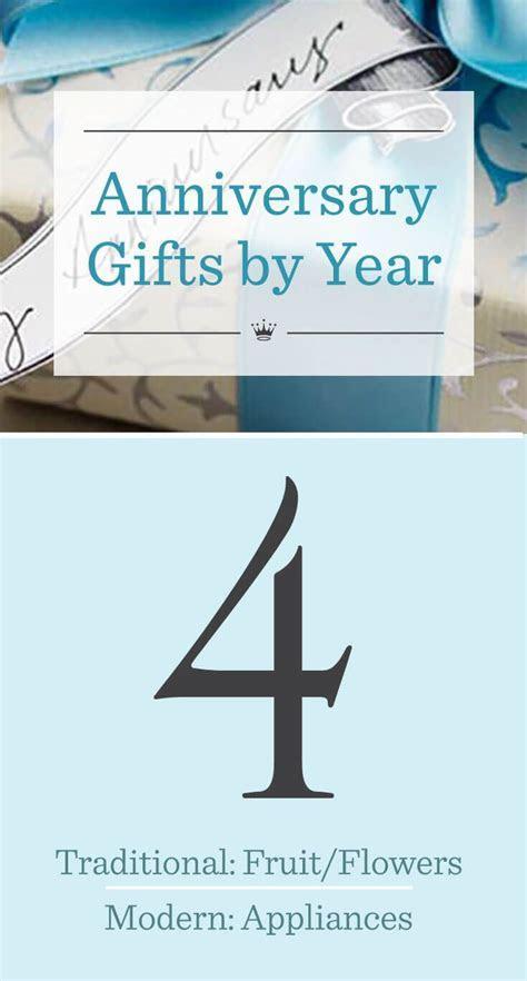 4th wedding anniversary gift ideas   personal development