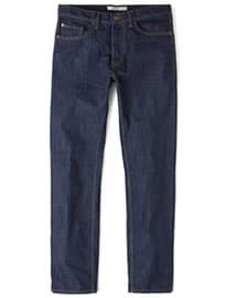 He By Mango Straight-fit Dark Bob Jeans