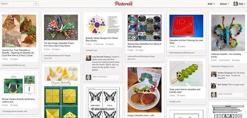 Pinterest - Caterpillar-Butterfly Unit Study