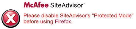 First result of running Firefox