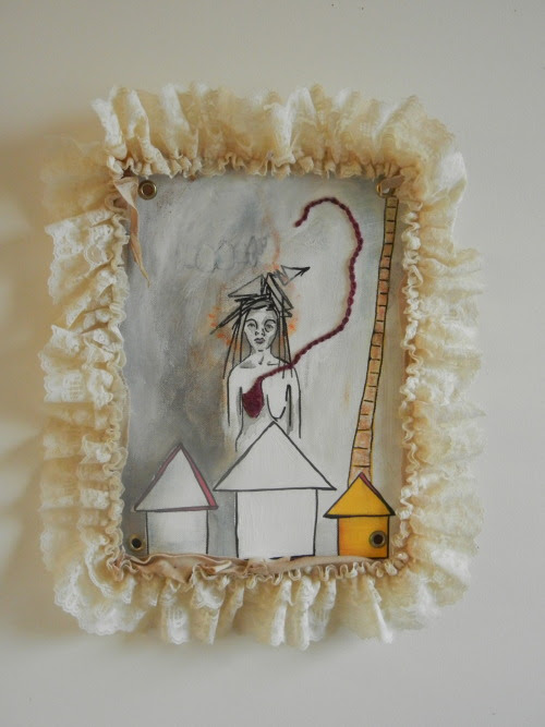 I Will Give it to You, 2011 Mixed Media