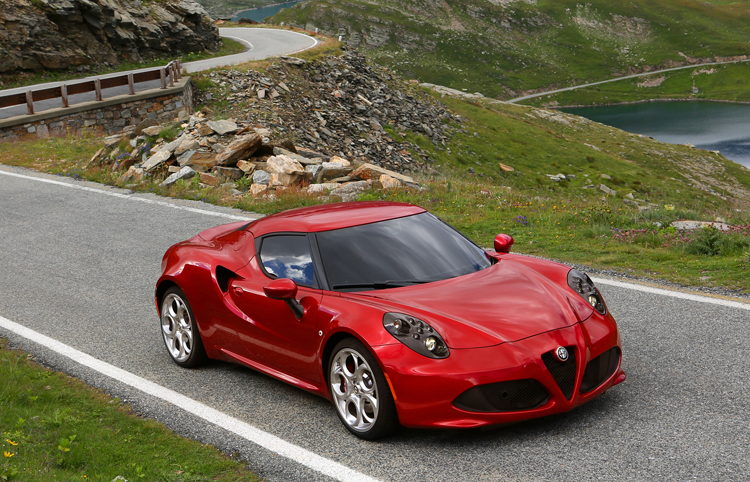 Alfa Romeo 4C European sales figures