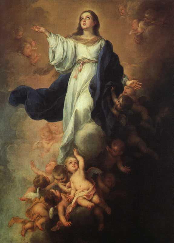 Bartolomé Esteban Murillo: Mariä Himmelfahrt, um 1675, in der Hermitage in St. Petersburg