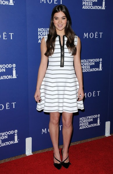 Hailee Steinfeld - Arrivals at the HFPA Installation Dinner