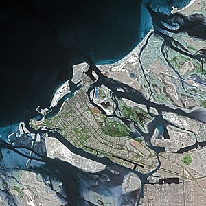 Abu Dhabi by SPOT Satellite