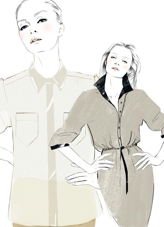 2 - blouse en robe 1960 gaby aghion