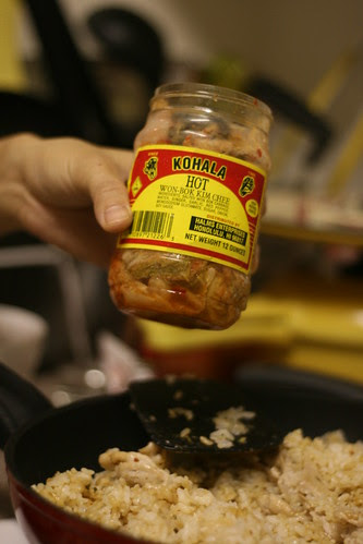 Pork Kimchi Fried Rice