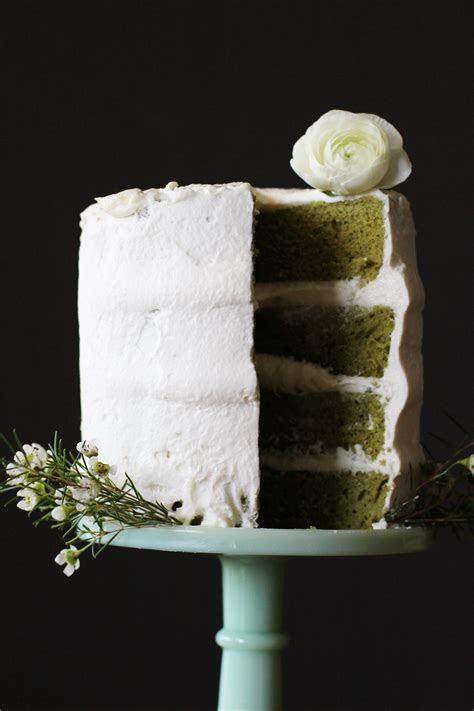 Matcha Green Tea and White Chocolate Cake ? HonestlyYUM