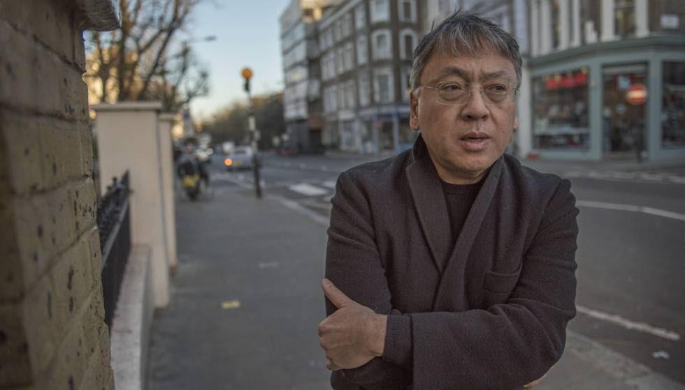 El escritor británico Kazuo Ishiguro, en Londres.