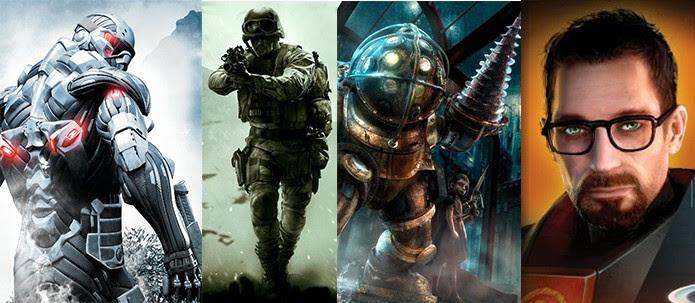 Modern Warfare, Bioshock, Crysis: relembre jogos que completam 10 anos em 2017 (Foto: Reprodução/Murilo Molina)