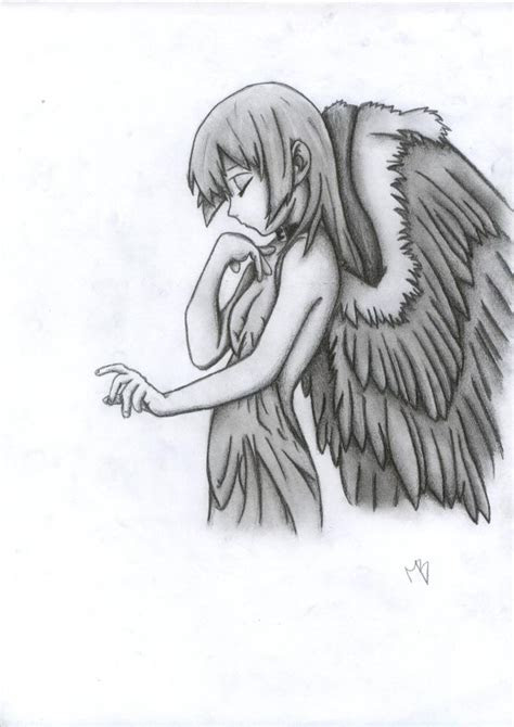 manga drawings  pencil anime drawings  angels