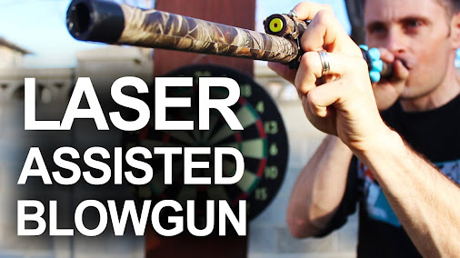 How To Make A Laser Guided Blowgun