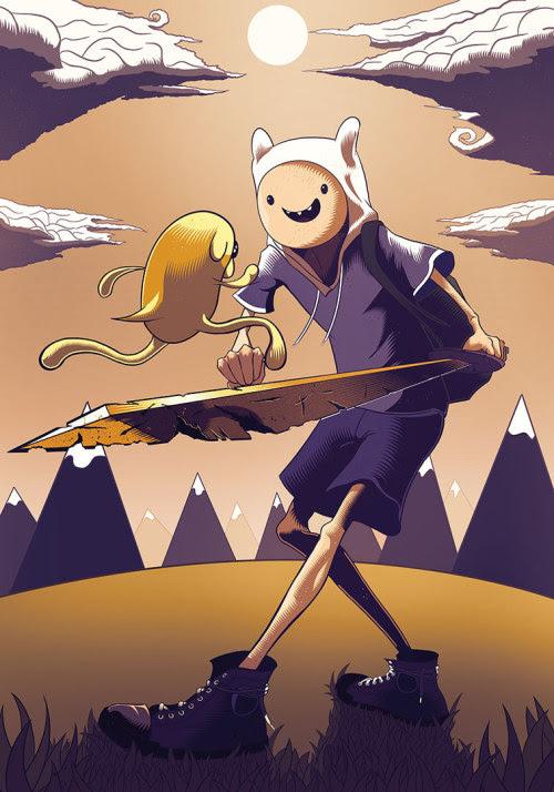 Adventure Time! byMateusz Waluś
