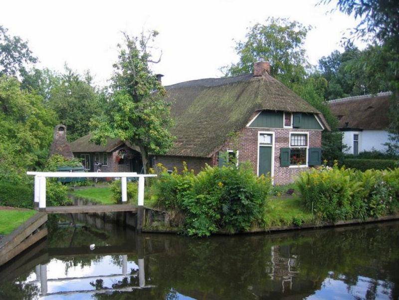 Giethoorn, a Veneza rural da Holanda 10