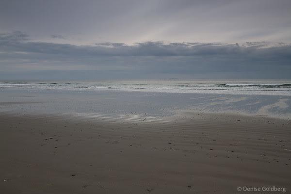 sky merging into sea