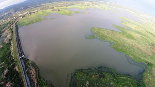 Imagem do Itans tirada a 300 metros de altura - Foto: George Kleber