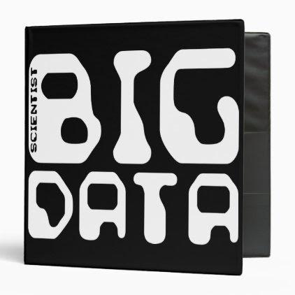 Big Data Scientist 3 Ring Binder