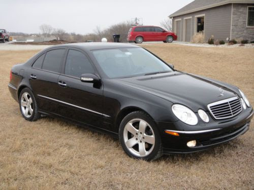 Buy used 2003 Mercedes-Benz E500 Sport pkg, HID option 5 ...