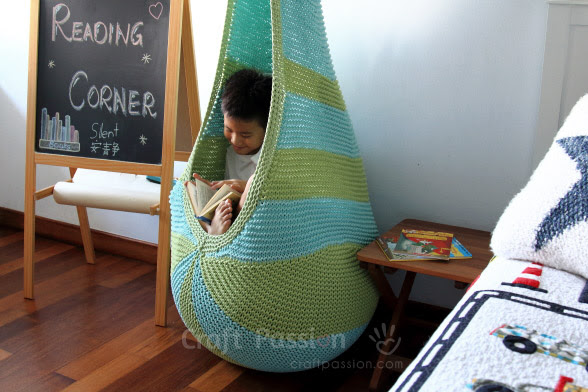 cocoon hanging seat knit pattern