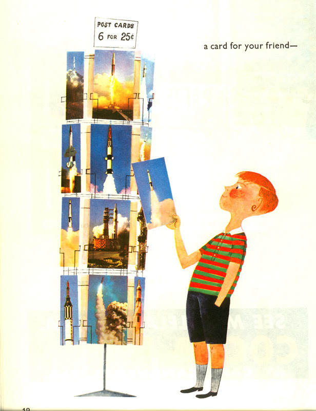 This is Cape Canaveral: postcards