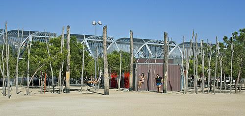 Arganzuela footbridge, Madrid, Spain, by jmhdezhdez