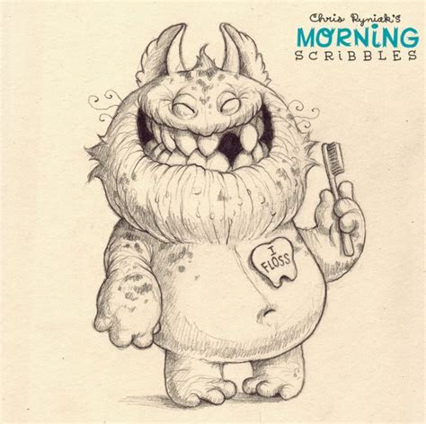 morning scribbles  characters creaturely