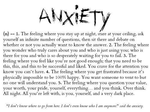 Quotes About Feeling Anxiety 42 Quotes