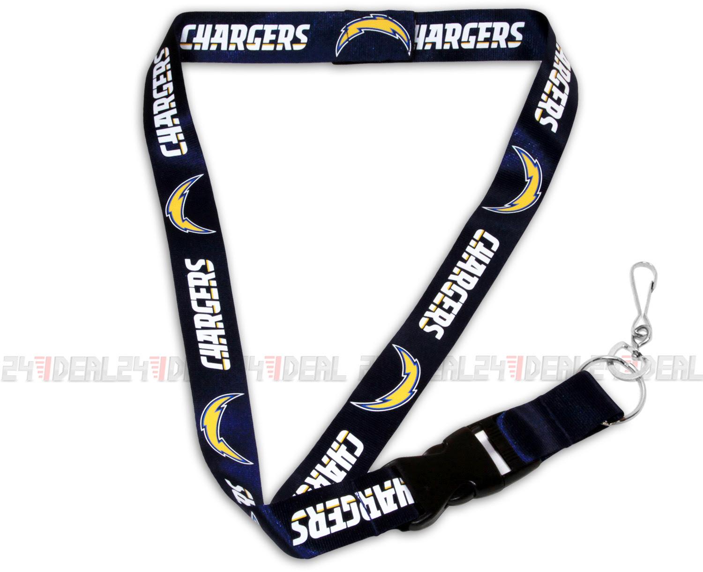 SAN DIEGO CHARGERS NFL BREAKAWAY LANYARD KEYCHAIN TICKET HOLDER NAVY  eBay