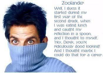 Zoolander Quote  Zoolander Fan Art 17583454  Fanpop