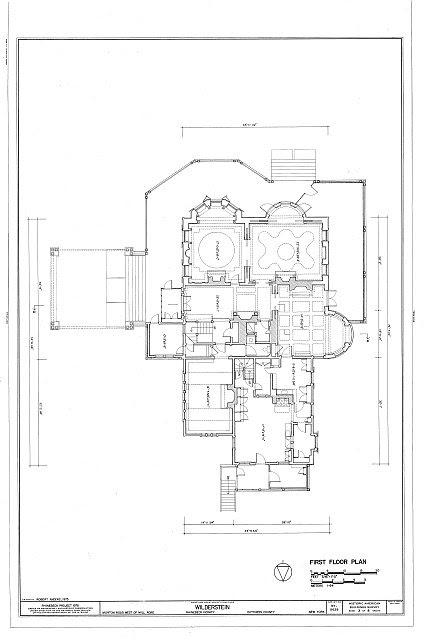 HABS NY,14-RHINB.V,4- (sheet 3 of 8) - Wilderstein, Morton Road, Rhinebeck, Dutchess County, NY