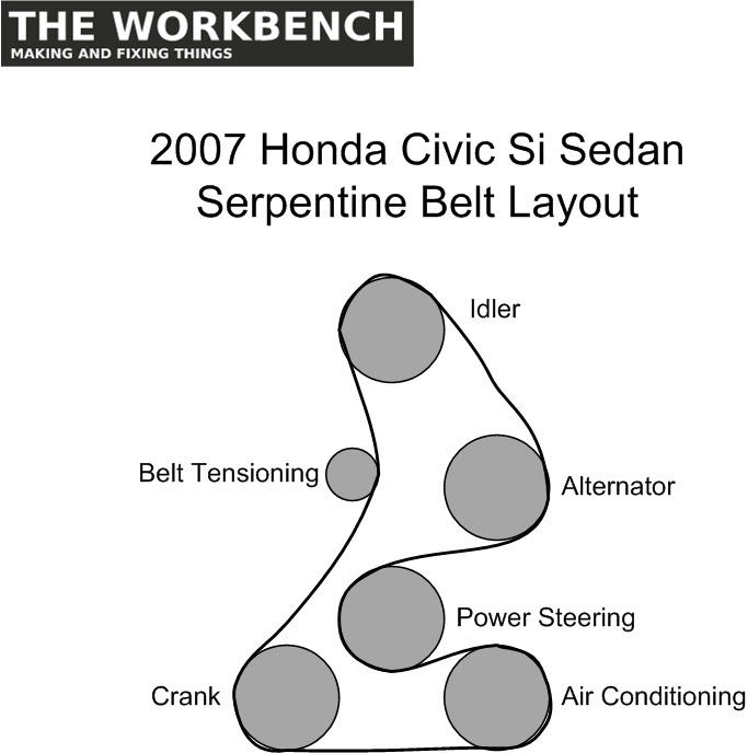 33 2008 Honda Civic Belt Diagram