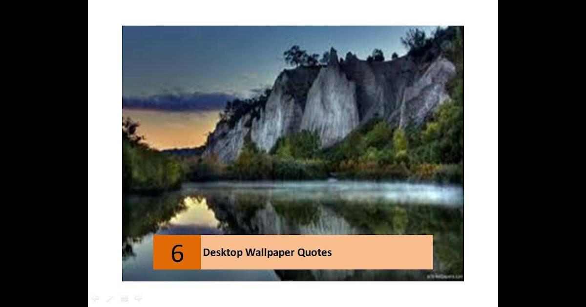 31+ Beautiful Quotes And Inspirational Desktop Wallpapers ...
