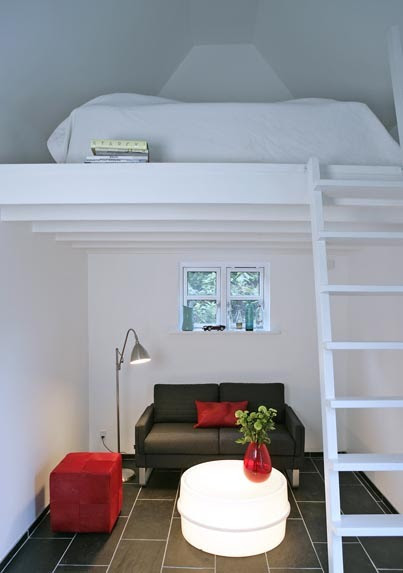 bed nook upstairs