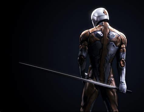 sci fi mgs cyborg ninja  concept art illustrations
