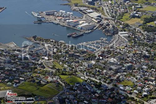 Faroe Islands, Tórshavn, the capital of the Faroe Islands
