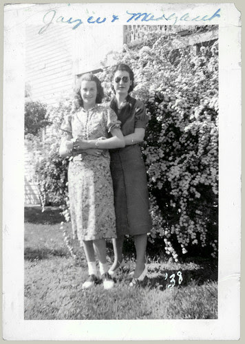 Joyce and Margaret '38