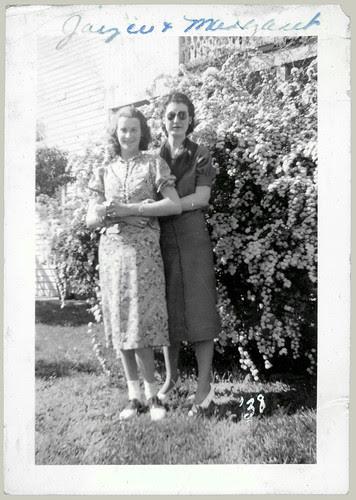Joyce and Margaret '38