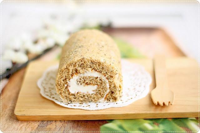 Jasmine Tea Roll Cake