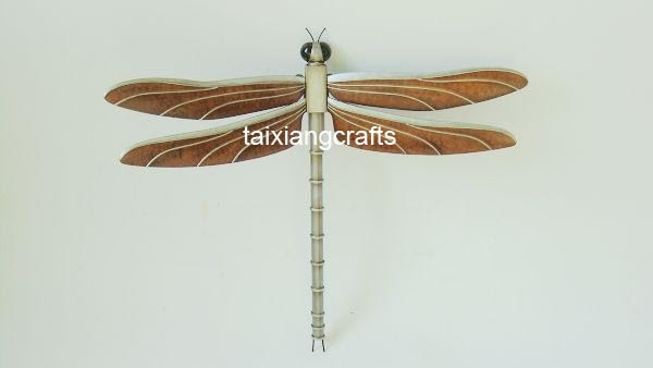 Metal Art & Crafts Dragonfly Decoration (TX1DR01) - China iron ...
