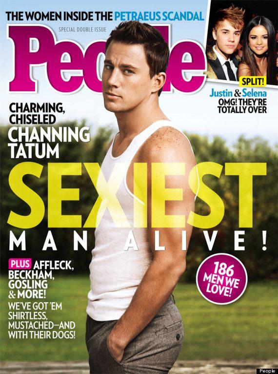 People's Sexiest Man 2012, Channing Tatum