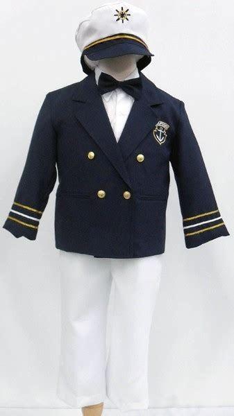 boys sailor nautical suit  full coat  piece set