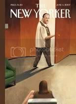 Tony Soprano on the cover of The New Yorker