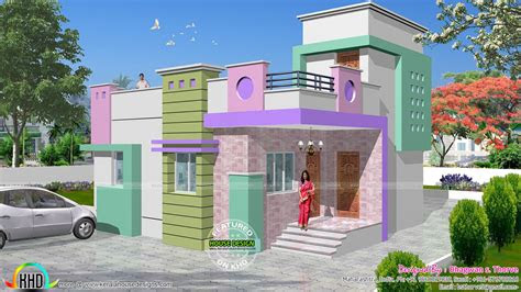 small budget north indian home kerala home design