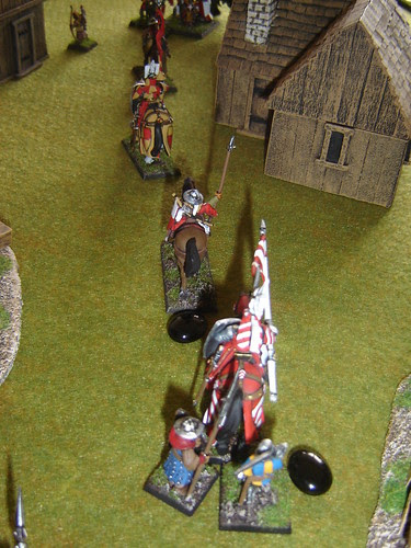 Knight is pursued