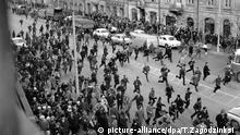 Polen, Studentenprotest in Warschau 1968